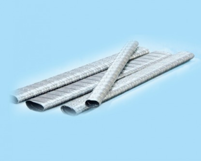 Corrugated Flat Oval Duct