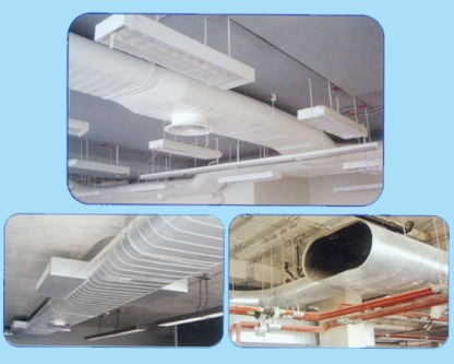 Spiral Flat Oval Duct